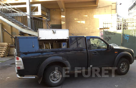 camion hydrocureur FORD RANGER - curage canalisation